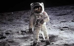 Buzz Aldrin sulla Luna per la missione Apollo 11 – Fonte: universetoday.com